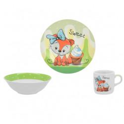 Детский набор 3пр Limited Edition Sweet Fox C526