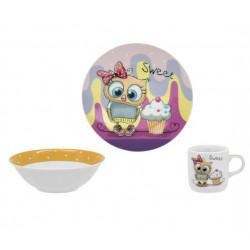 Детский набор 3пр Limited Edition Sweet Owl C525