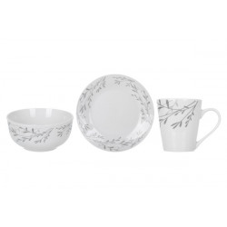 Сервиз для завтрака 3пр Limited Edition Silver Shine DS0301A