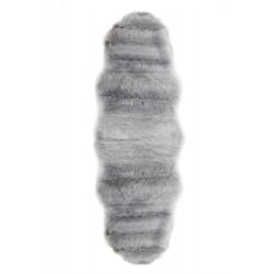 Коврик искусственный мех Alaska post 60х180 IzziHome Gri