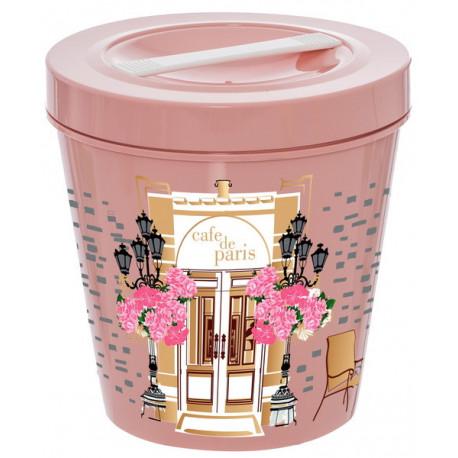Контейнер-ведро 5,35л Herevin Pink 161475-003