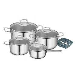 Набор посуды 9 пр. Vinzer Techno 89022