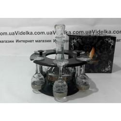 Набор для напитка 8пр декор с рисунком GE05-500/134-БС Мускат