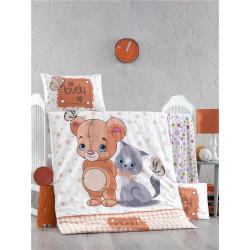 Постельное белье для младенцев LightHouse Mouse and cat