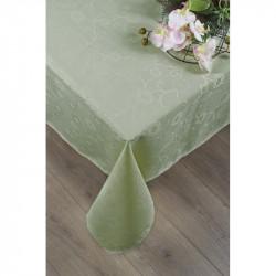 Скатерть Tac 160х160 - Lilium оливка