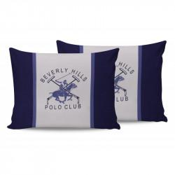 Наволочки 50х70 (2шт) Beverly Hills Polo Club - BHPC 029 Blue