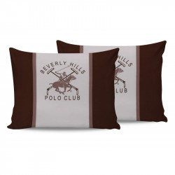 Наволочки 50х70 (2шт) Beverly Hills Polo Club - BHPC 029 Brown
