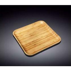 Тарелка квадратная 28х28см Wilmax Bamboo WL-771024