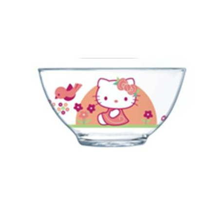 Luminarc Disney Hello Kitty Nordic Flower.Салатник н-н.13см H9227