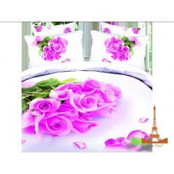 Постельное белье семейное 3D Love you Нежность stp 758