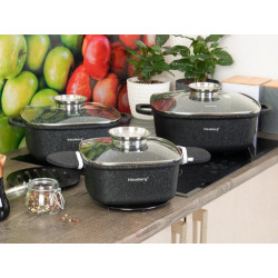 Набор посуды 10пр Klausberg KB7361
