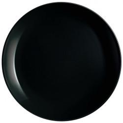 Тарелка подставная 27.3см Luminarc Diwali Black P0786