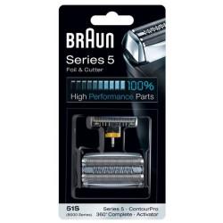 Аксессуар для бритв BRAUN блок+сетка series 5 51S