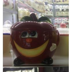 Банка для сыпучих 750мл Milika Smile Apple Color M07130-EDB125-A