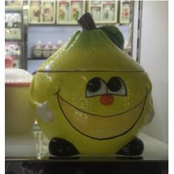 Банка для сыпучих 750мл Milika Smile Lemon Color M07130-EDB125-B