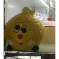 Банка для сыпучих 750мл Milika Smile Corn Color M07130-EDB127-A