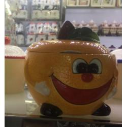 Банка для сыпучих 750мл Milika Smile Orange Color M07130-EDB127-B