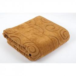 Полотенце махровое Tac 70х140см - Alpha кофе