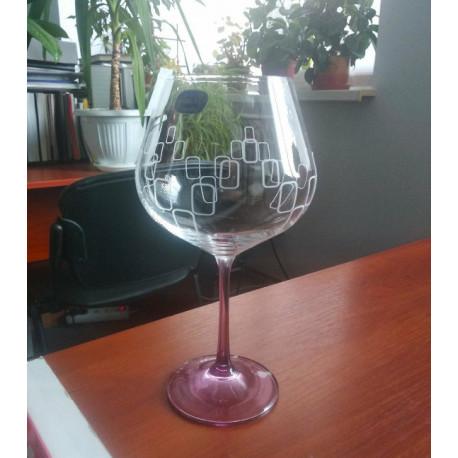 Набор бокалов для вина 570 мл Bohemia Viola Rainbow 40729 570S K0568