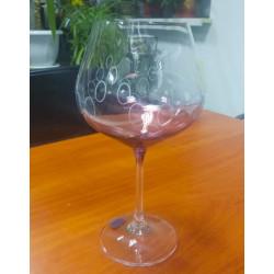 Набор бокалов для вина 570 мл Bohemia Viola Rainbow 40729 570S K0586