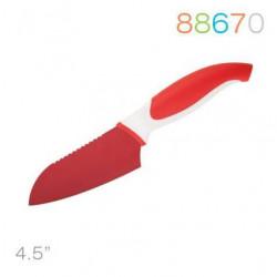 Нож 11,5 см сантоку красныя Granchio 88670