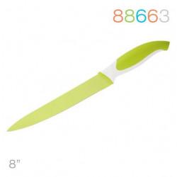 Нож 20 см для мяса зеленый Granchio 88663