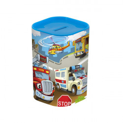 Копилка Herevin Money Box Big Cars 161495-004