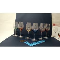 Набор бокалов для вина 350 мл Bohemia Viola Rainbow 40729 350S K0586