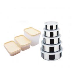 Набор емкостей для продуктов 16пр Krauff 26-212-003 (002)