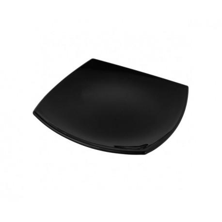 Тарелка обеденная 25см Luminarc Quadrato Black J0591