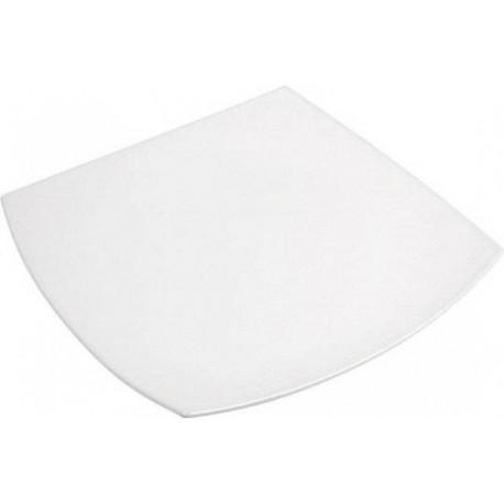 Тарелка обеденная 26см Luminarc Quadrato White J0592