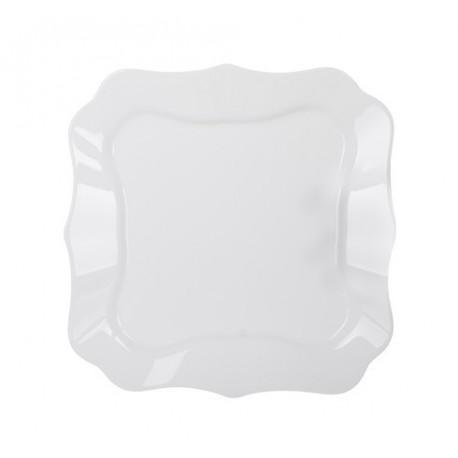 Тарелка обеденная 26см Luminarc Authentic White J1300