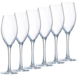 Набор бокалов для шампанского Luminarc Felicity 230мл-6шт H5352