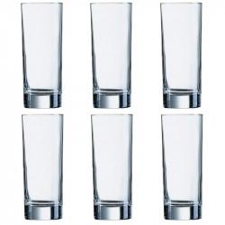 Набор стаканов высоких 330мл 6шт Luminarc Islande J0040