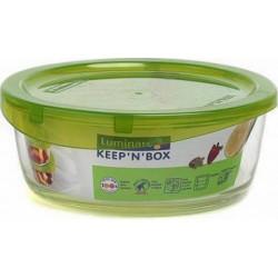 Емкость для пищи круглая 390мл Luminarc Keep'n'Box G4264