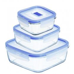 Набор контейнеров для еды 3пр Luminarc Pure Box Active H7685