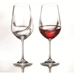 Бокалы для вина Bohemia Turbulence 350 мл -2шт