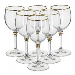 Набор бокалов для вина  240мл-6шт Bohemia Olivia (20314)