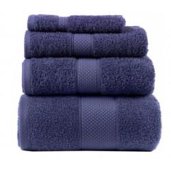 Полотенце махровое 100х150 Arya-Miranda Soft Синий
