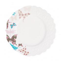 Тарелка обеденная 26см Krauff Butterfly 21-252-021