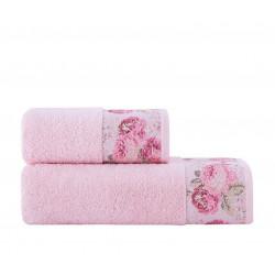 Полотенце махровое 70X140 Arya-Desima Розовый