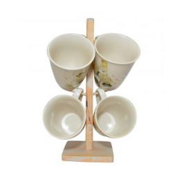Сервиз чайный 5пр Krauff Hortensie 24-269-051