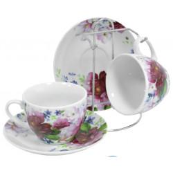 Сервиз чайный 5пр Keramia Шиповник K24-198-069