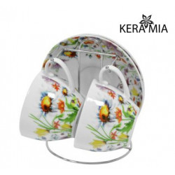 Сервиз чайный 5пр Keramia Полевые цветы K24-198-080