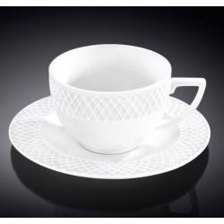 Чашка с блюдцем для капучино 170мл Wilmax Julia WL-880106 / AB