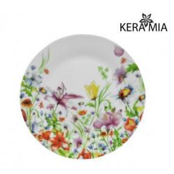 Тарелка десертная 19см Keramia Полевые цветы K24-198-081
