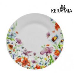 Тарелка обеденная 23см Keramia Полевые цветы K24-198-082