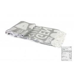 Плед 140х200 LightHouse - City Style светло-серый