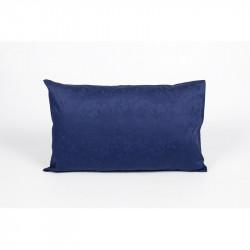 Наволочка 40х60 (1шт) Tac жаккард - Clemence lacivert синий с узором