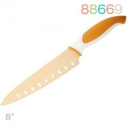 Нож Granchio поварской  оранжевый 88669